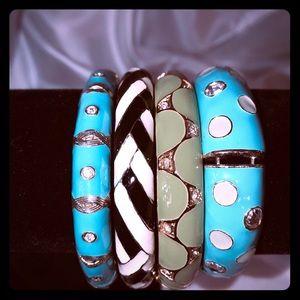 Enamel bracelets